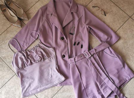 Outfit 8 – Lilla elegante